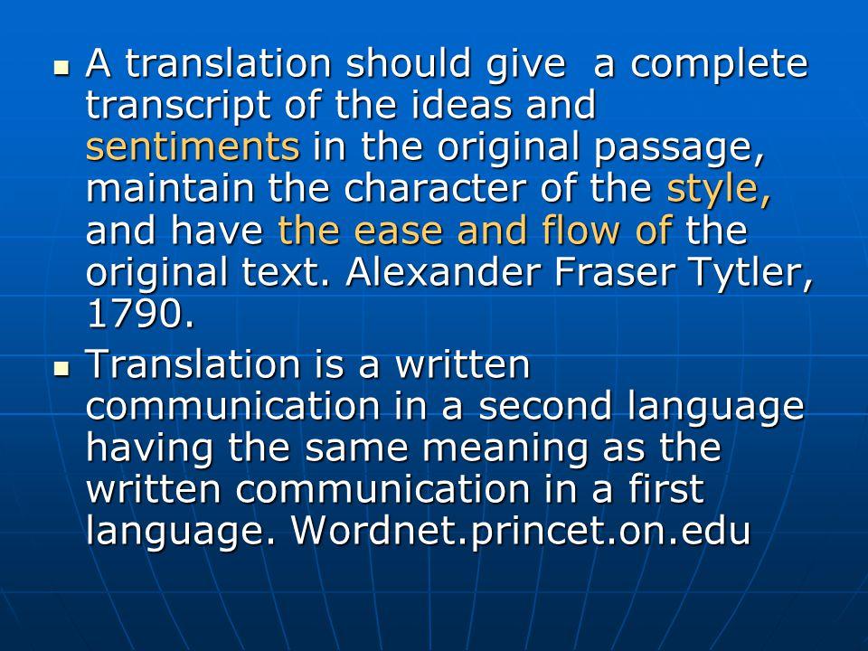 Examples (2): Intersemiotic