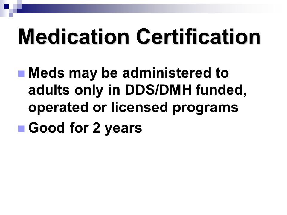 Transcription Certified staff copy info from HCP order and pharmacy label on to med sheet Certified staff copy info from HCP order and pharmacy label on to med sheet