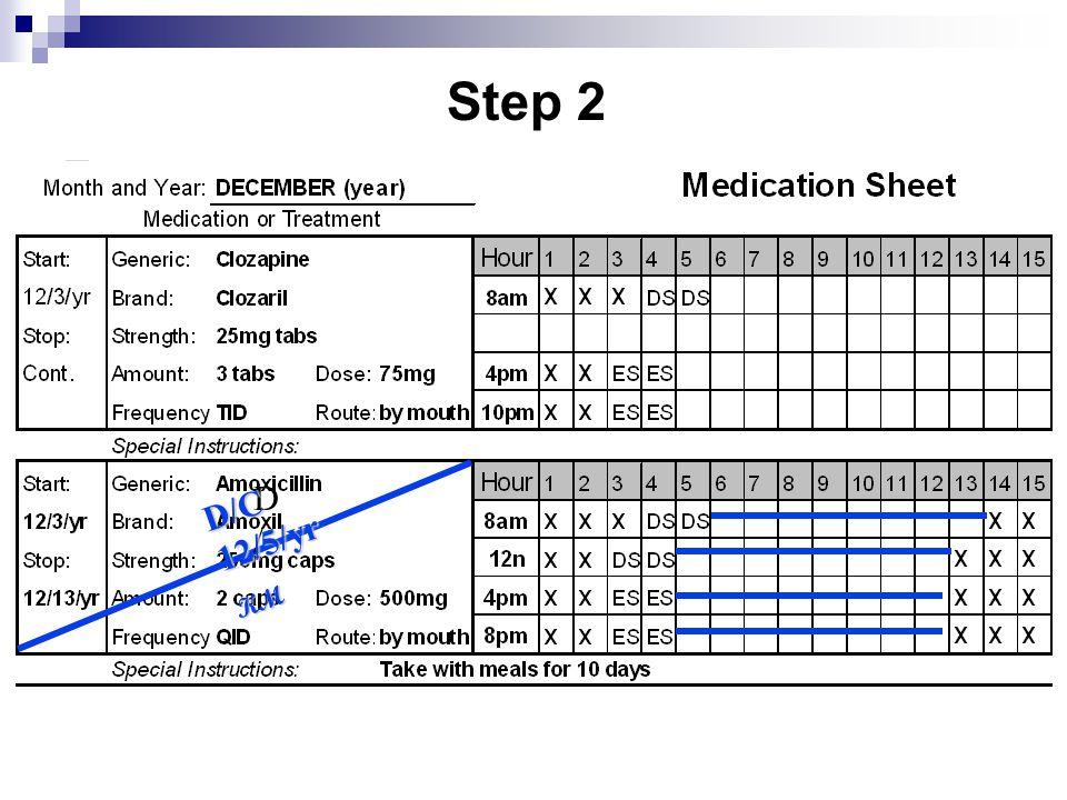 D/ D/ D/C 12/5/yr KM Step 2