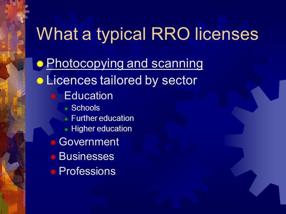 Licence types 1.Statutory 2.
