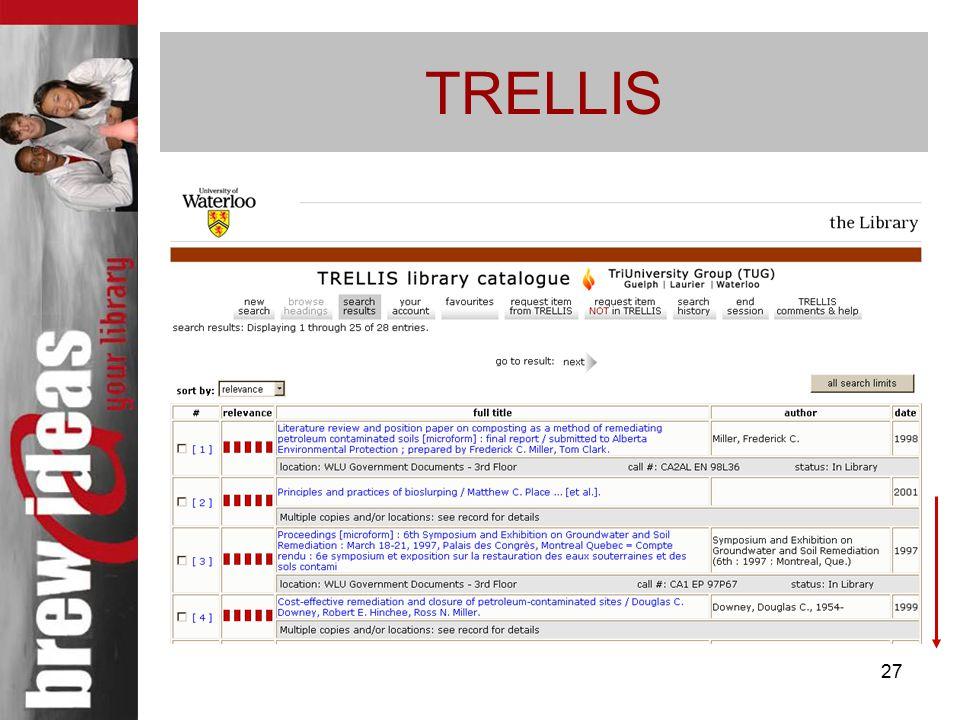 27 TRELLIS