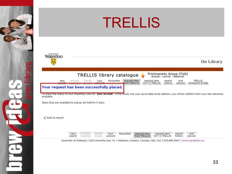 33 TRELLIS