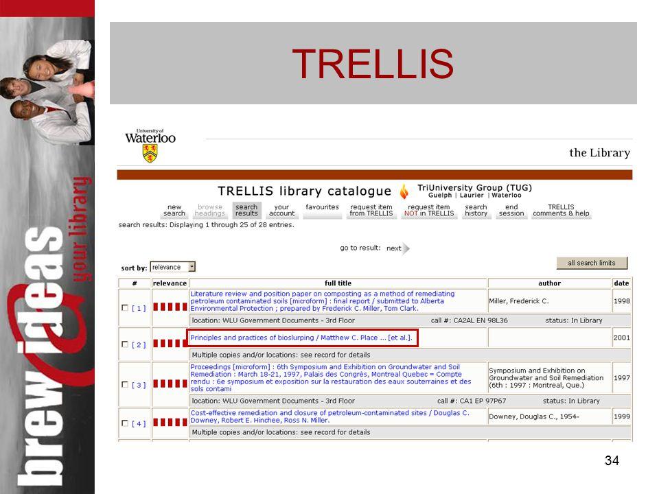34 TRELLIS