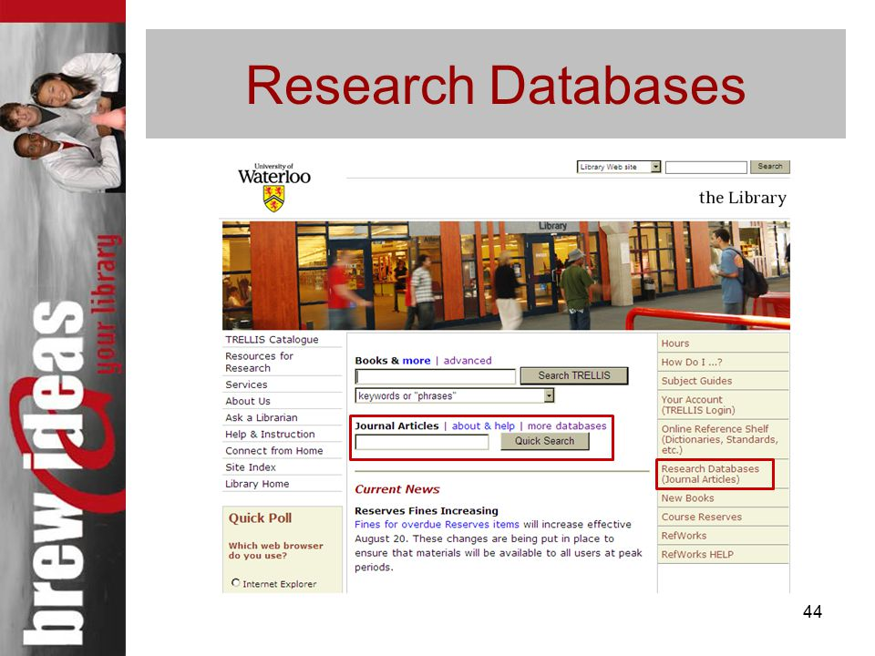 44 Research Databases