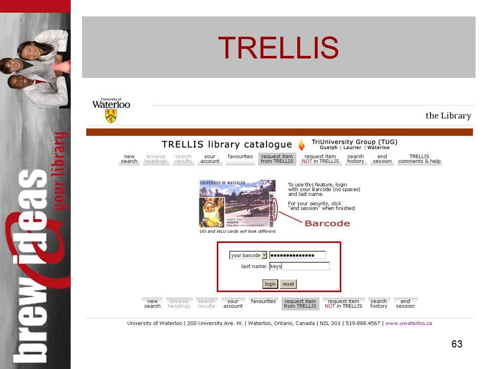 63 TRELLIS