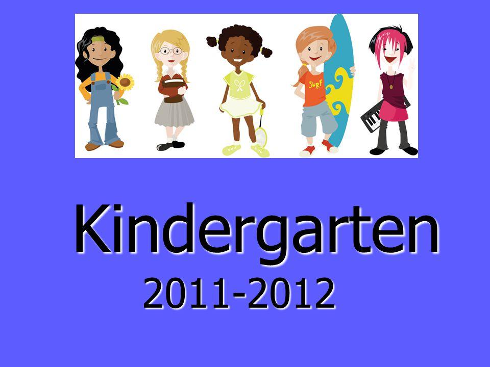 Kindergarten 2011-2012