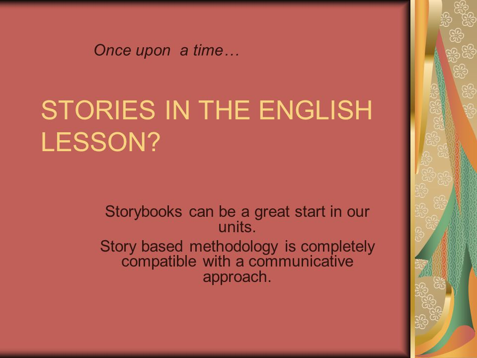 Evaluating your story telling Pronunciation: Did I have any problems with vowels/consonantal sounds.