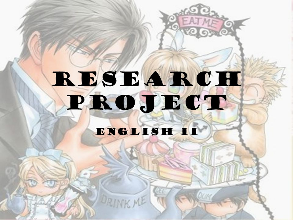 We will soon begin our first semester research project.