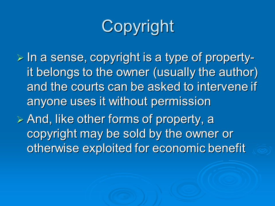 Copyright Registration  Registration is a prerequisite for any infringement suit  Do not wait; if you do, and you face a suit down the road, it will cost an additional $200 to have an expedited registration  And if you are timely in registration and sue, you can automatically be awarded damages of up to $100,000 plus costs if you are successful