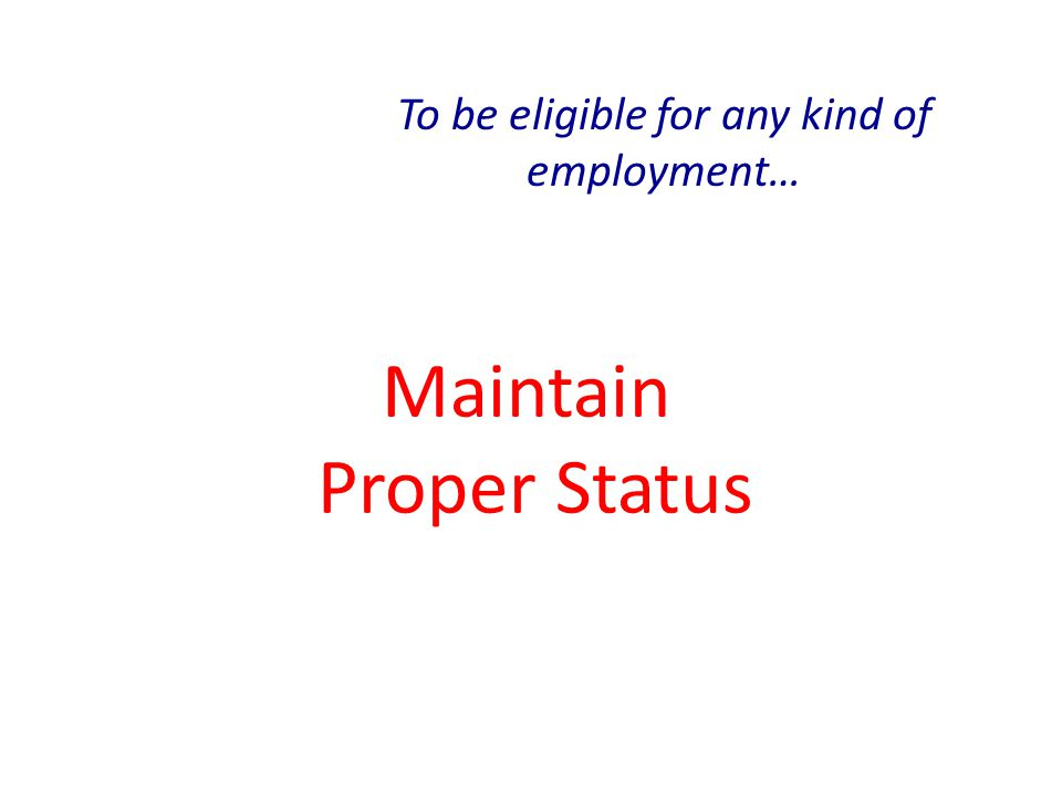 On-Campus Employment, (F-1/J-1) Work limited by College policy while in session Can work full-time during vacation periods Can not work on-campus after completion of a course of study (includes Reunion), except as dictated by other forms of employment