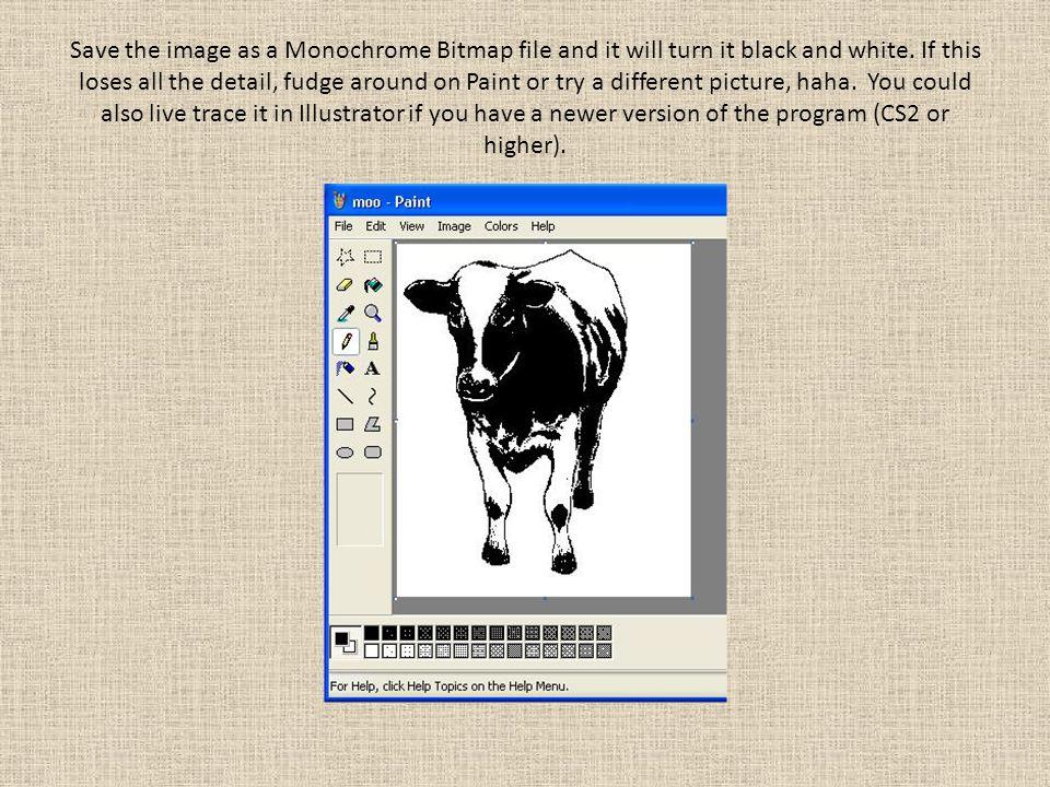 Draw and make a photocopy