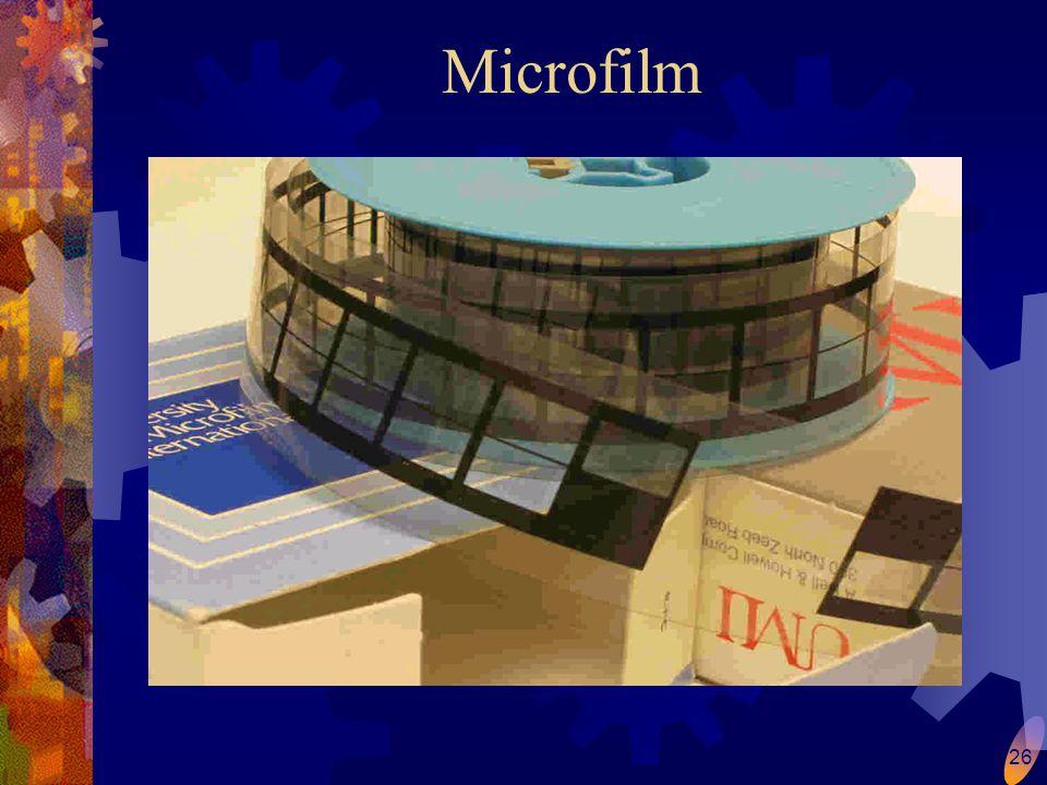 26 Microfilm