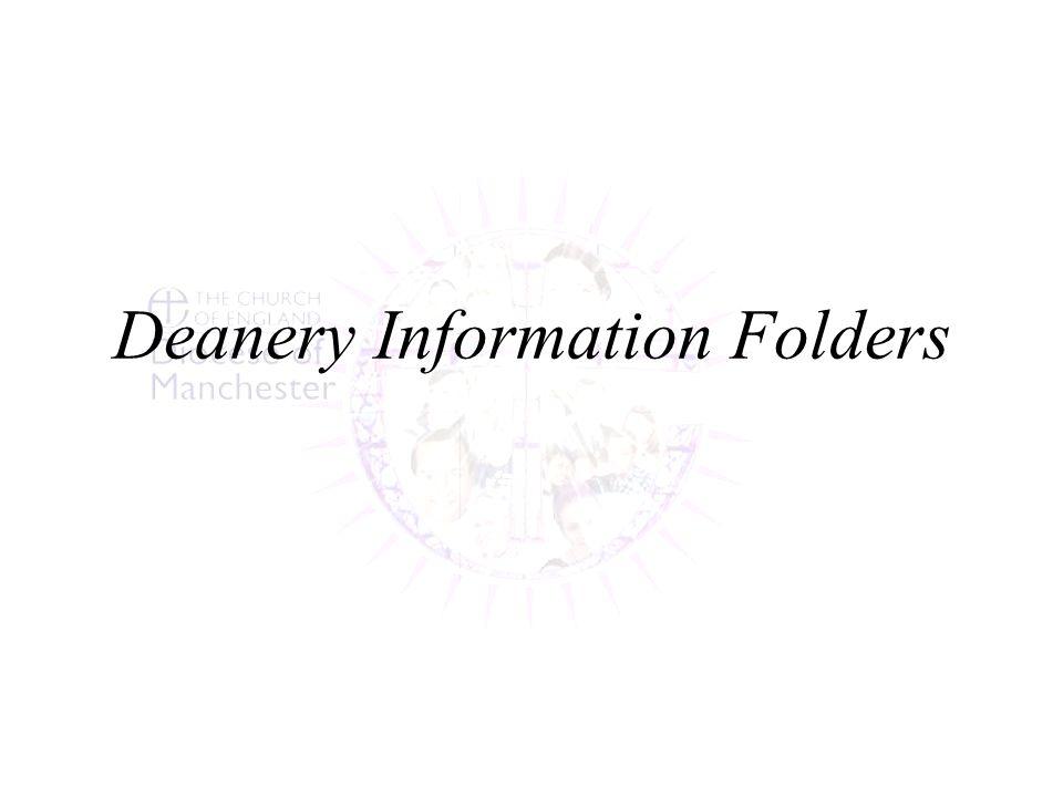 Deanery Information Folders