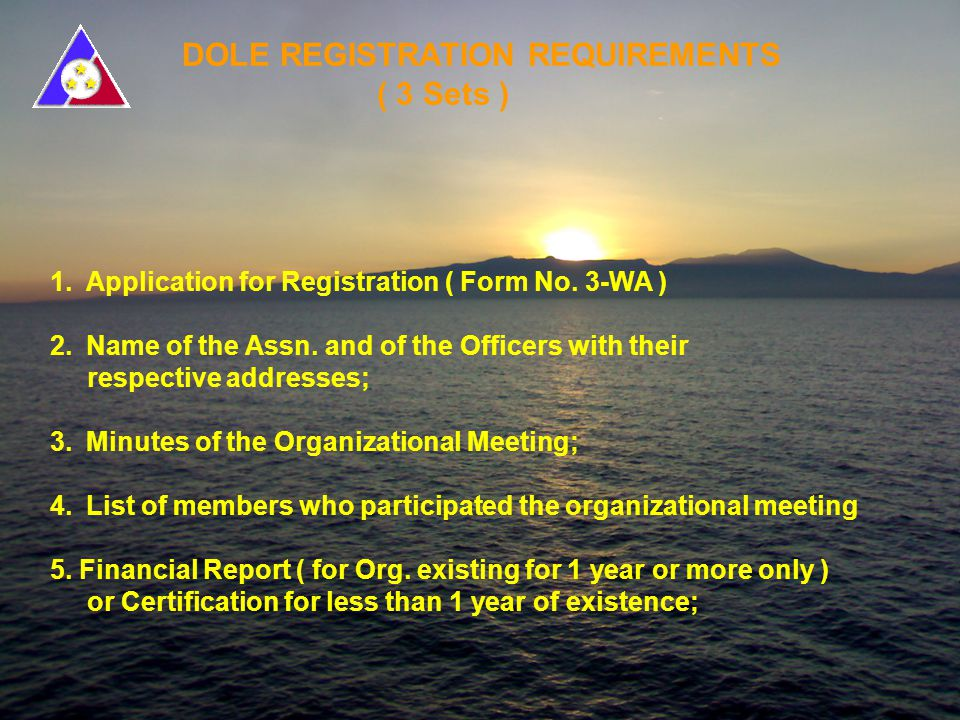 ACCREDITED CO-PARTNER (ACP) REQUIREMENTS ( 3 Sets ) 6.
