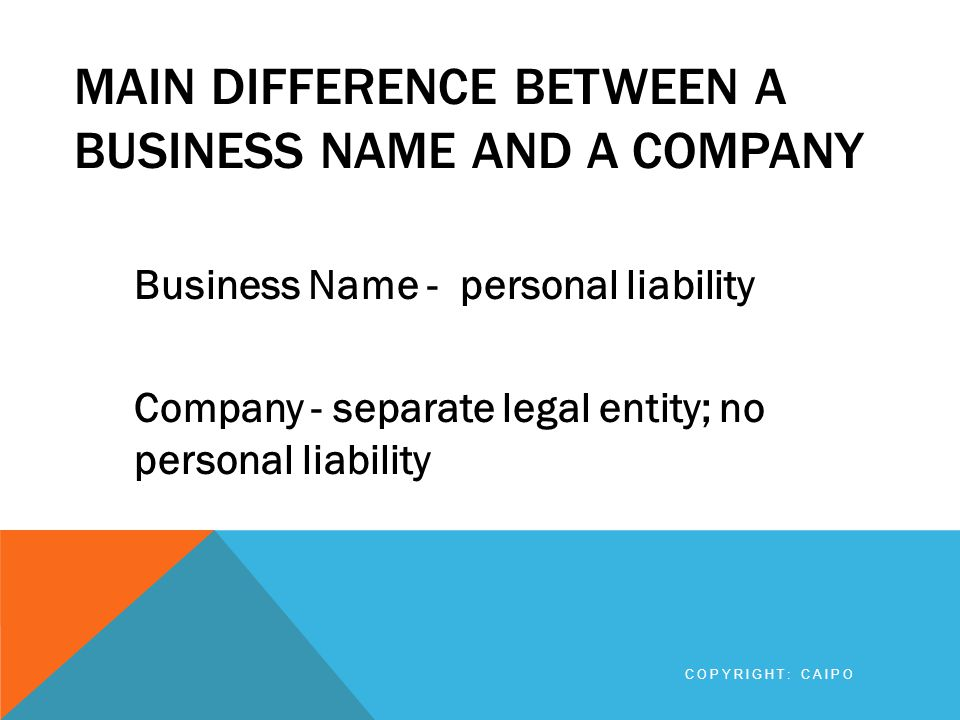 ANY OTHER CHANGES Where there is a change of address of an individual or company, notice of the change of address must be filed.