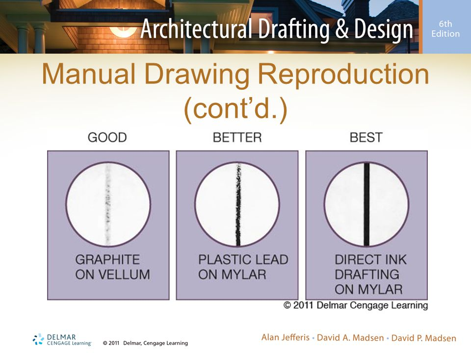 Manual Drawing Reproduction (cont'd.)