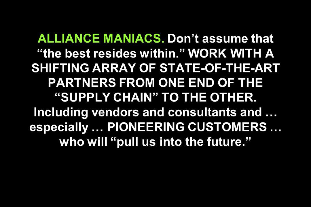 ALLIANCE MANIACS.
