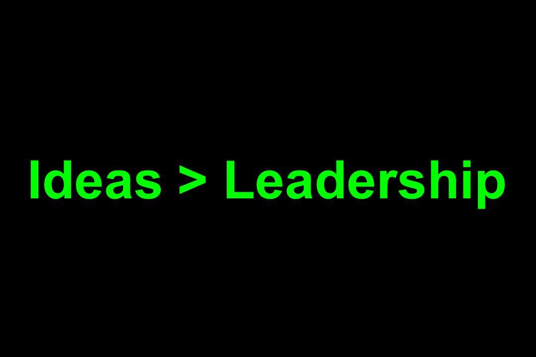 Ideas > Leadership