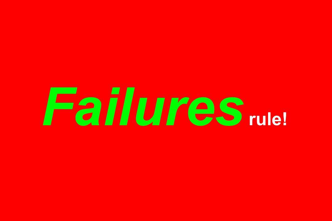 Failures rule!