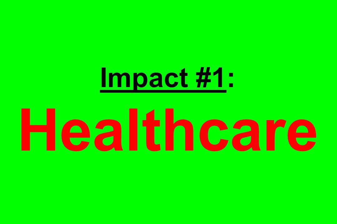 Impact #1: Healthcare