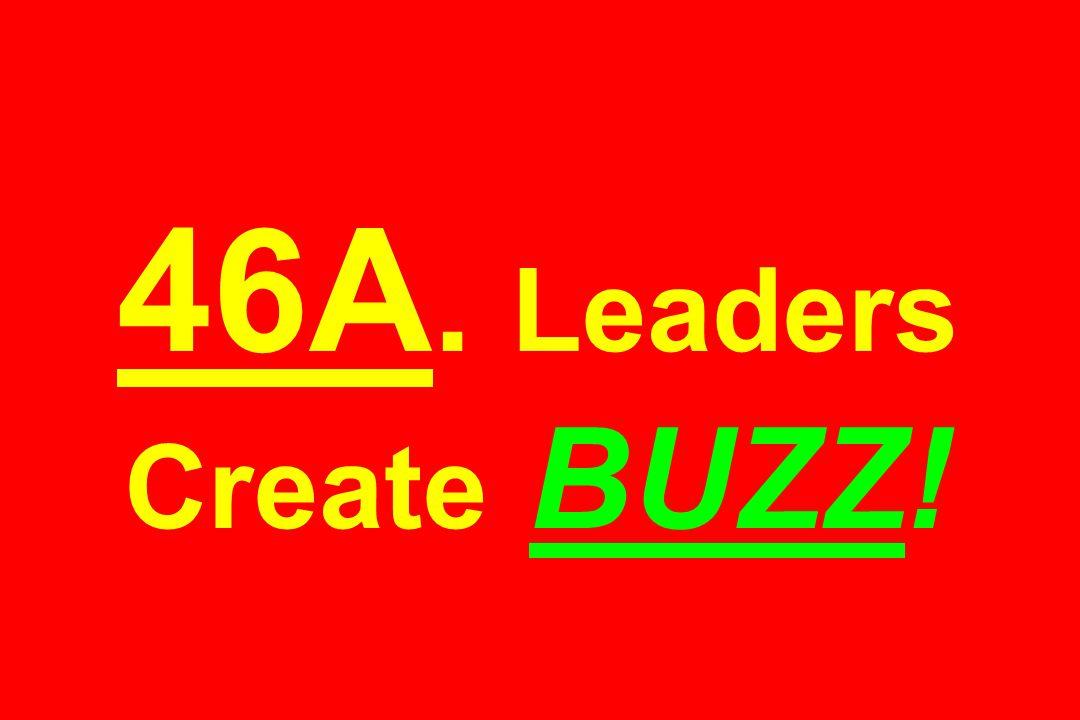 46A. Leaders Create BUZZ!