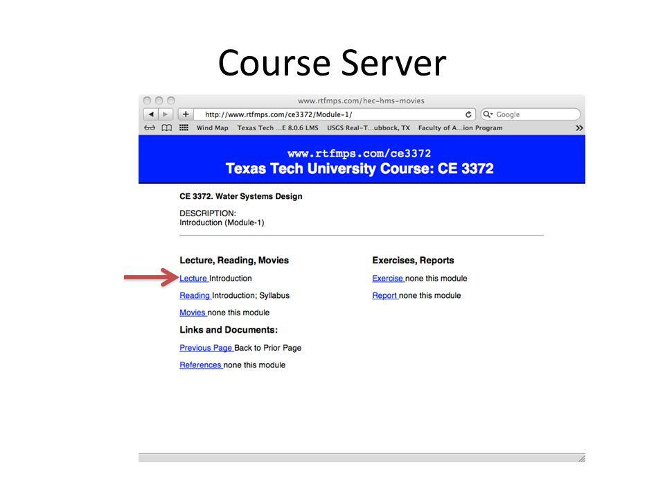 Course Server