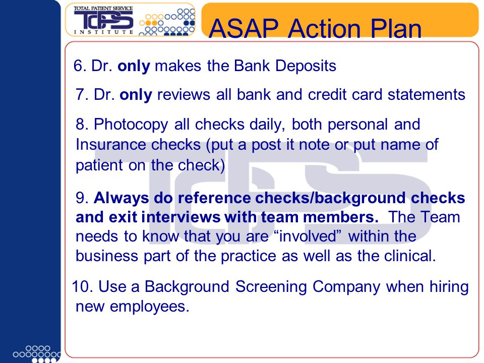 What type of Schedule Template do you have. ASAP Action Plan 6.