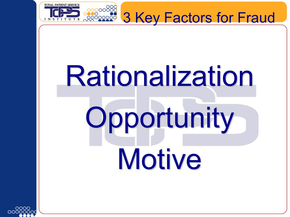 What type of Schedule Template do you have 3 Key Factors for FraudRationalizationOpportunityMotive