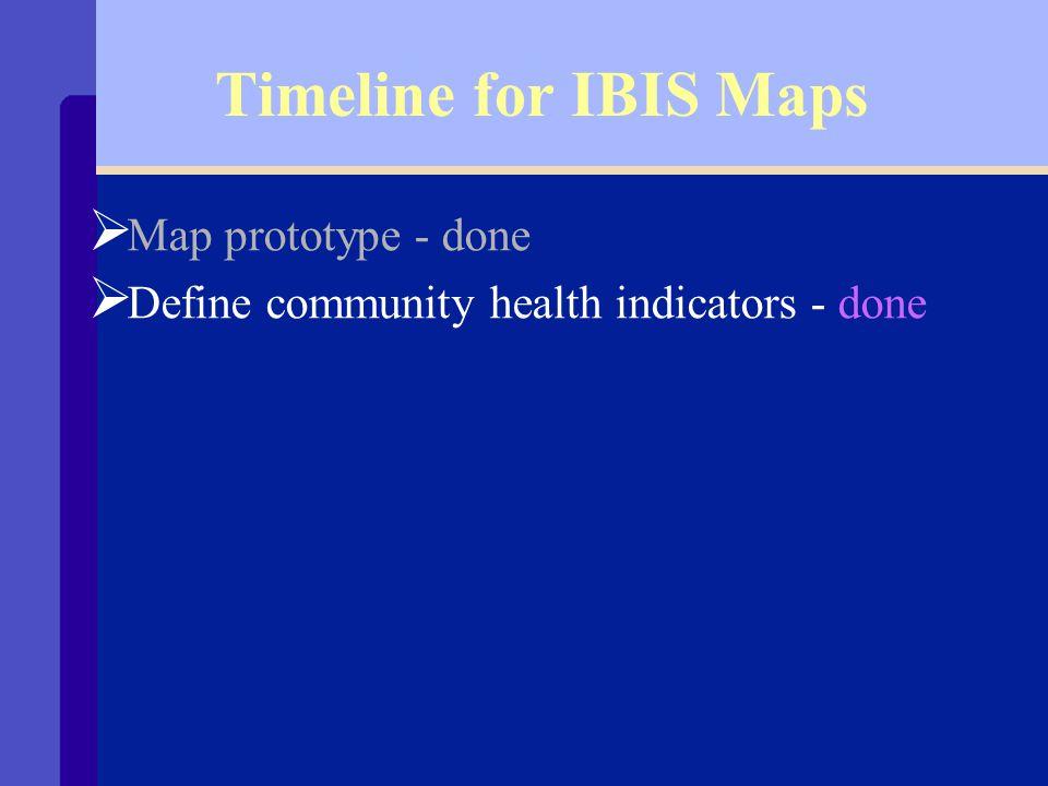 IBIS Map Prototype