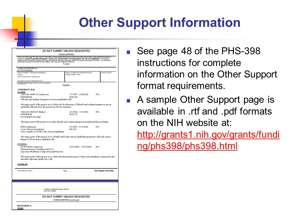 NIH Grants Policy Statement Outlines Penalties for False Statements The NIH Grants Policy Statement has a clear discussion of the penalties associated with submitting false information on grant applications at: http://grants1.nih.gov/grants/policy/nihgps_2001/part_i_2.htmhttp://grants1.nih.gov/grants/policy/nihgps_2001/part_i_2.htm The Program Fraud and Civil Remedies Act of 1986, 31 United States Code (U.S.C.) 3801, provides for the administrative imposition by HHS of civil penalties and assessments against persons who knowingly make false, fictitious, or misleading claims to the Federal Government for money, including money representing grants, loans, or benefits.