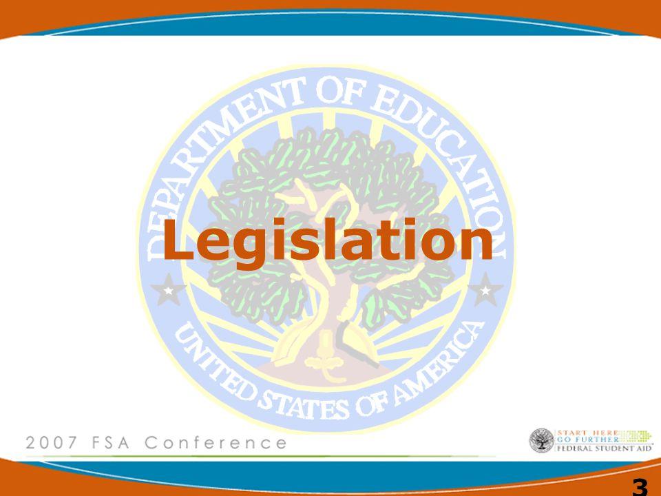 3 Legislation