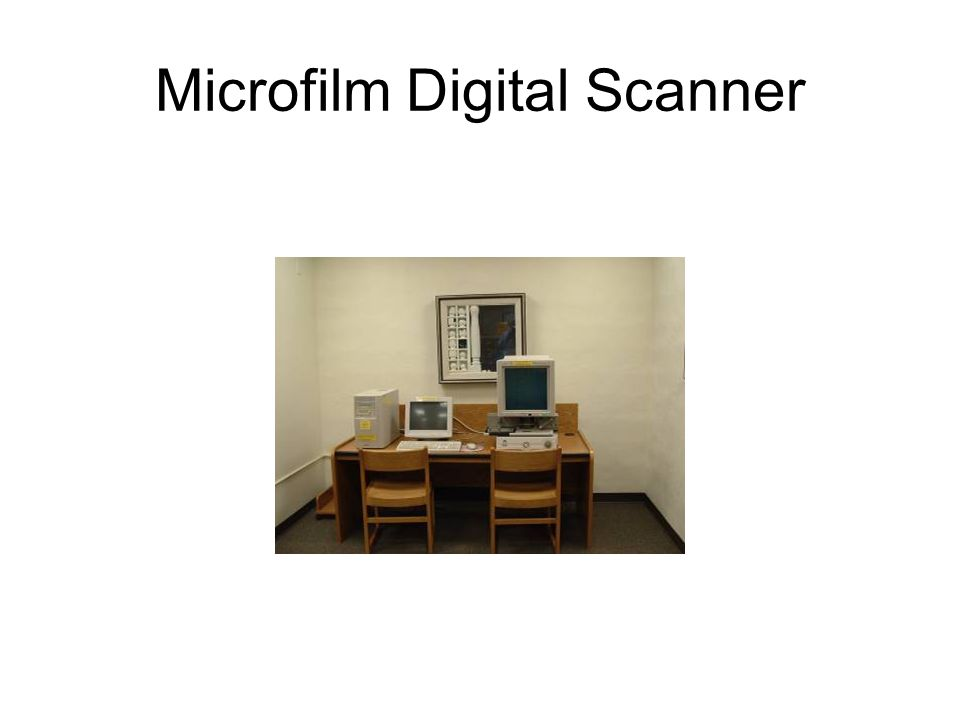 Microfilm Digital Scanner