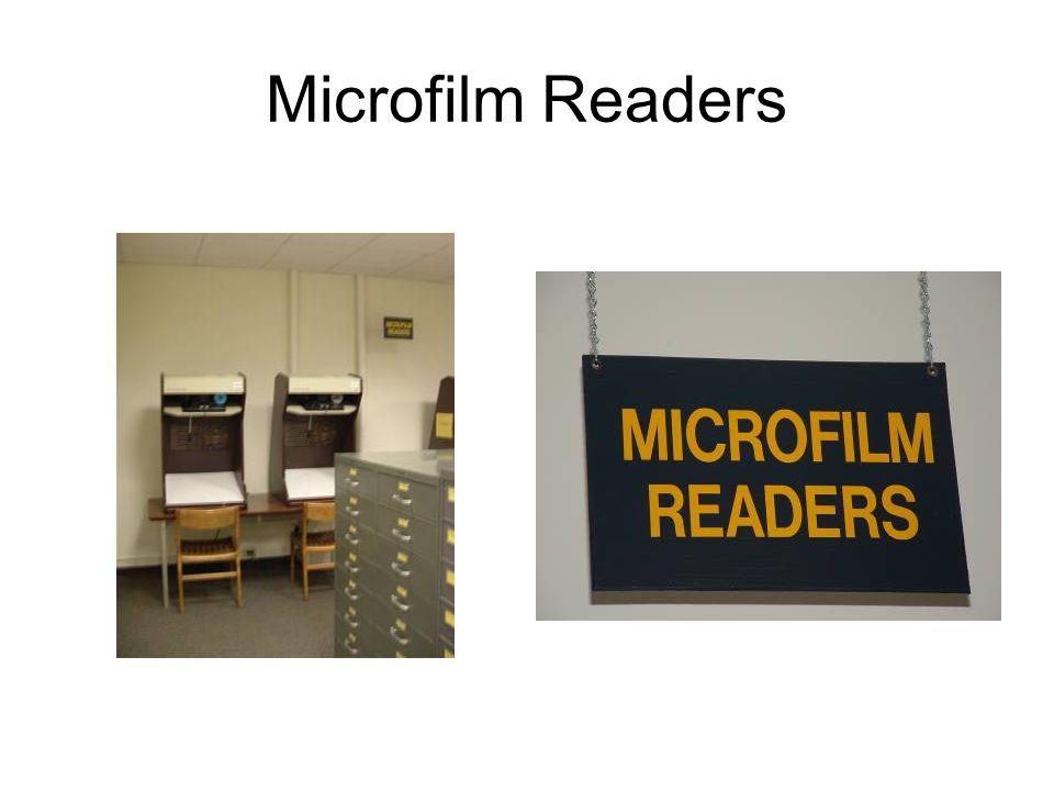 Microfilm Readers