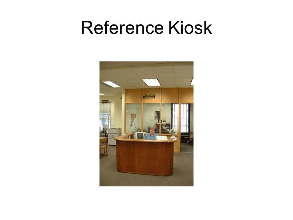 Reference Kiosk