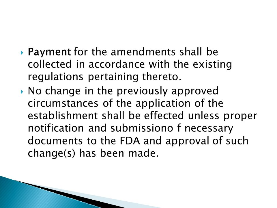  An application shall be filed with the respective Regional Field Offices having jurisdiction over the establishment or as defined in accordance with issuance.