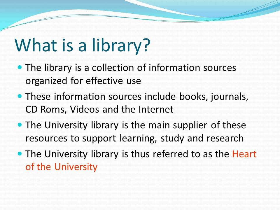 Objectives of the presentation To introduce you to UL Library and its resources, floor plan, study rooms and other important areas To inform you about library hours, rules, regulations and policies that you should adhere to To show you the service areas where you can get help To introduce you to the library online catalogue that will lead to the basic materials To show you the shelving areas and the organization of materials on the shelves To encourage you to use the library regularly