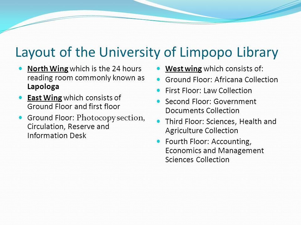 LIBRARY SCHOOLS HUMANITIES MANAGEMENT SCIENCES & LAW SCIENCES, HEALTH & AGRIC