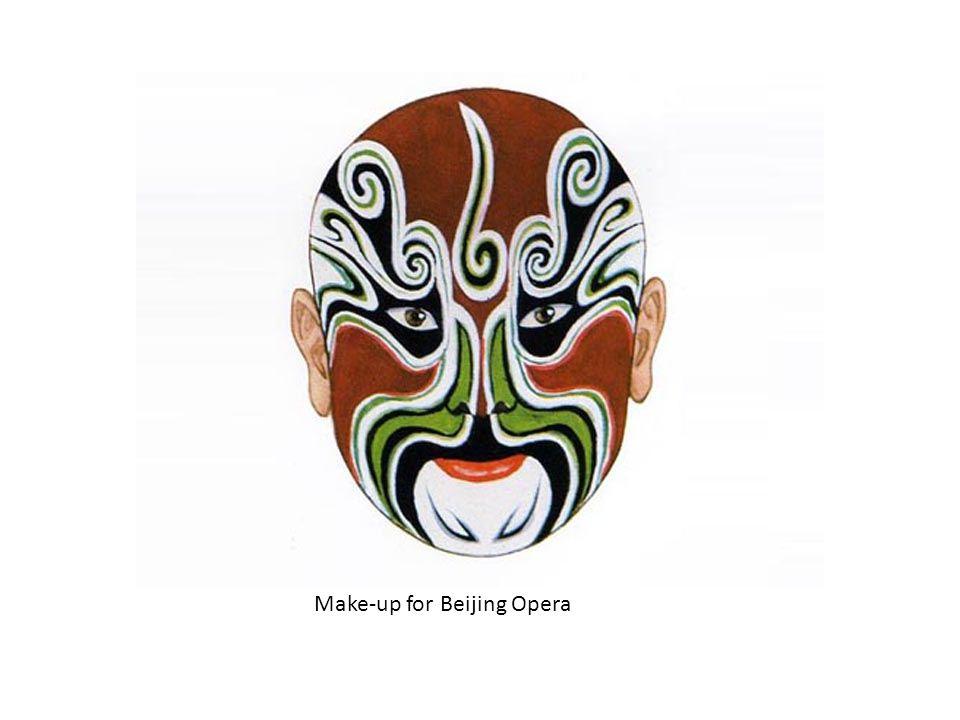 Make-up for Beijing Opera