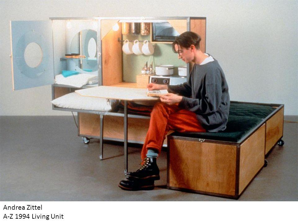 Andrea Zittel A-Z 1994 Living Unit