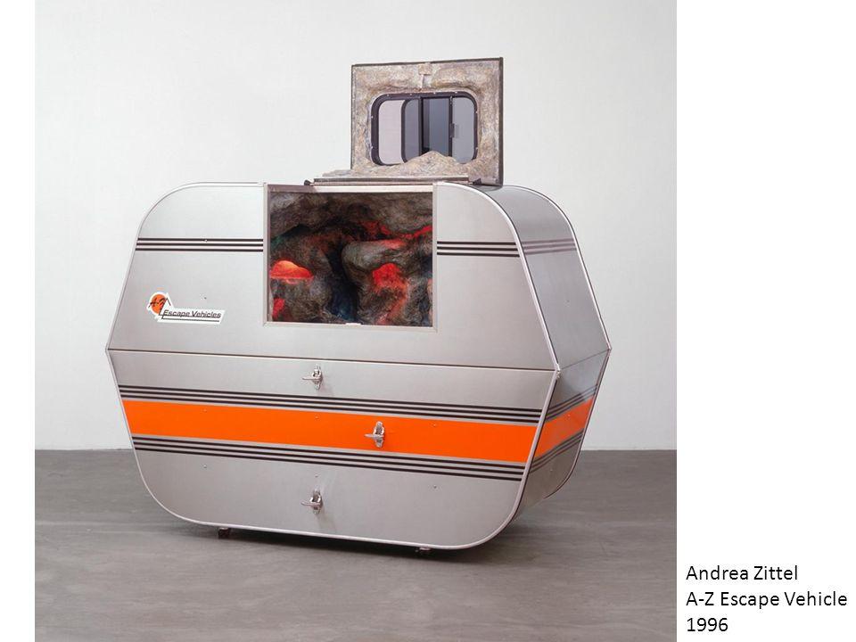 Andrea Zittel A-Z Escape Vehicle 1996