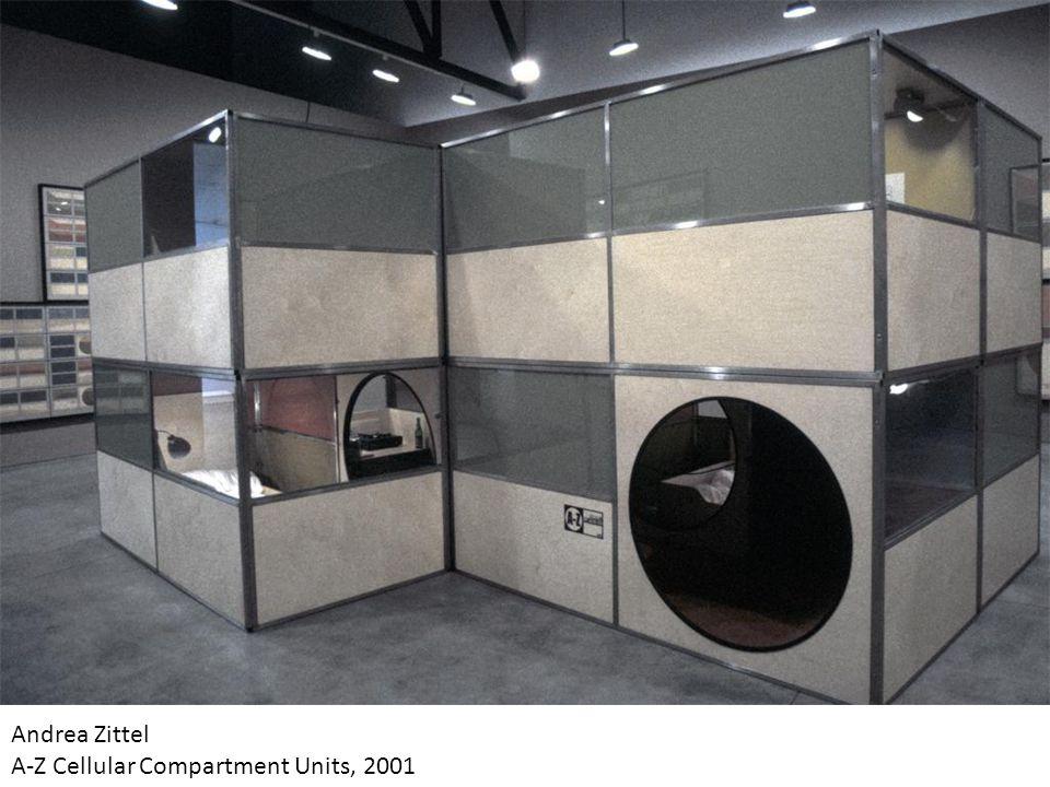 Andrea Zittel A-Z Cellular Compartment Units, 2001