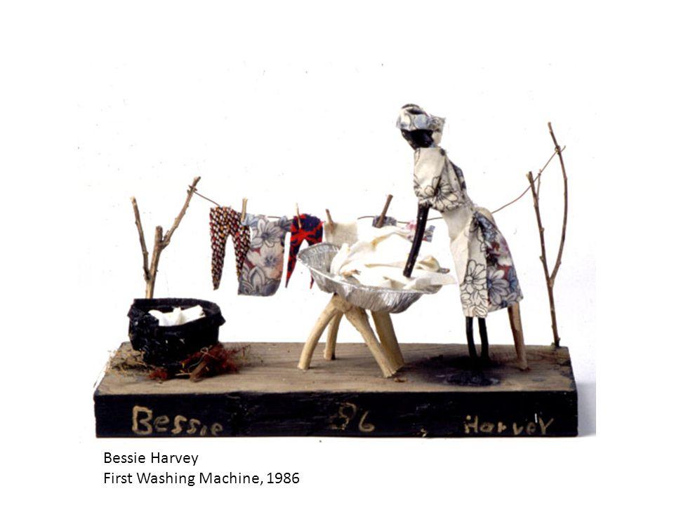 Bessie Harvey First Washing Machine, 1986