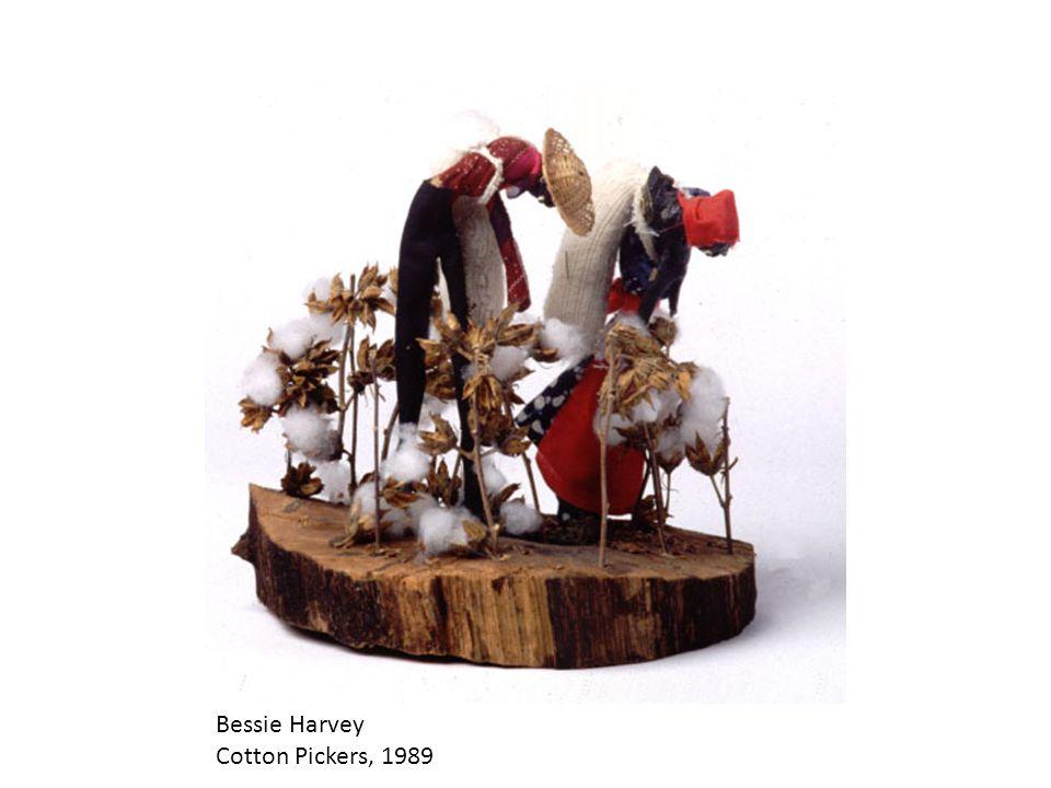 Bessie Harvey Cotton Pickers, 1989