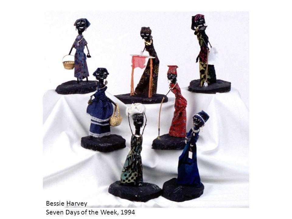 Bessie Harvey Seven Days of the Week, 1994