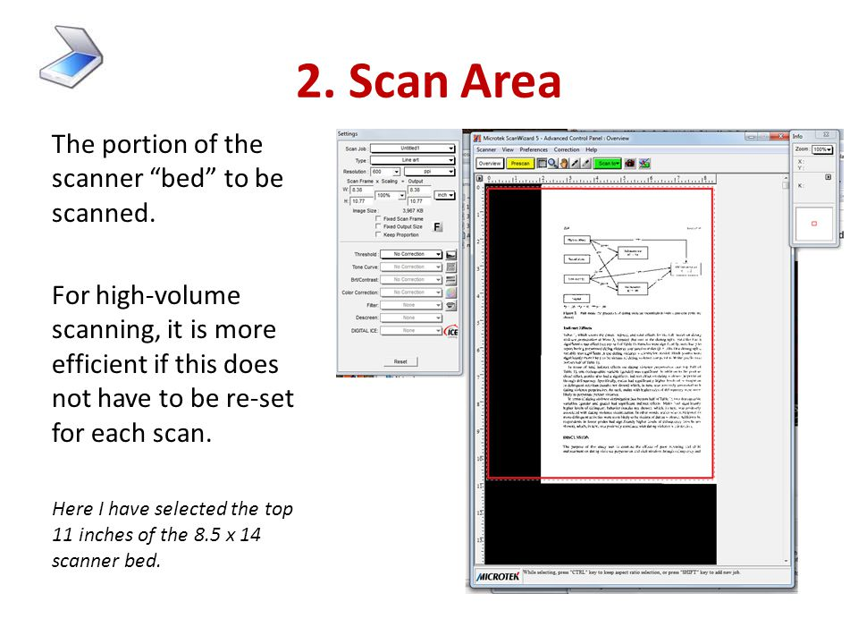 """1. Original media What is being scanned ? Is it: """"Reflective"""" -- i.e., opaque, like a sheet of paper """"Transparent"""" -- i.e., see- through, like a slide"""
