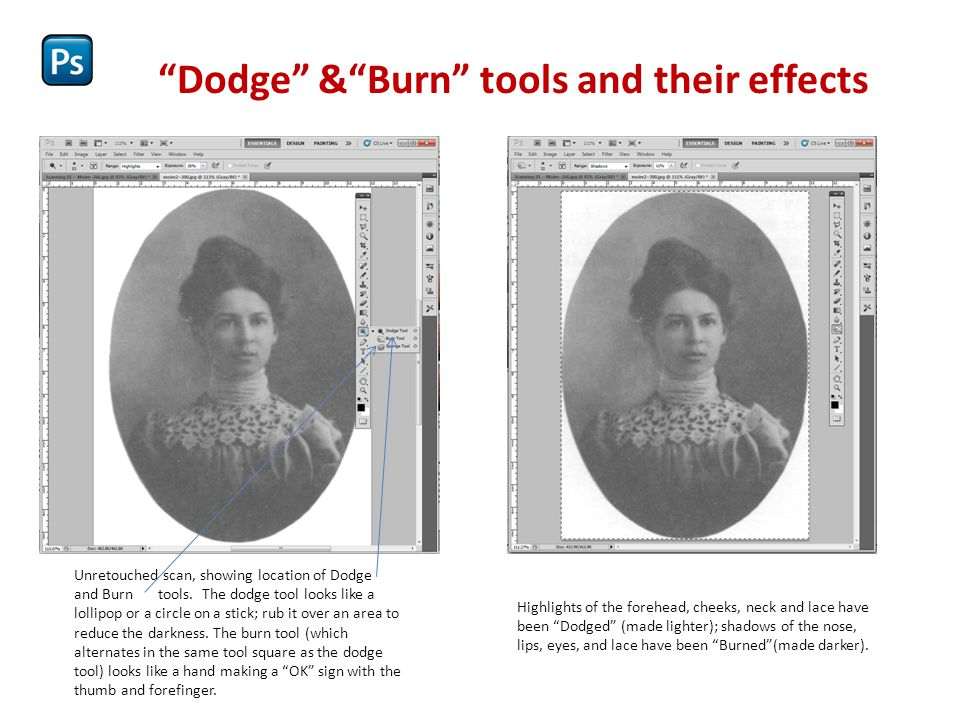 """Adjusting color images The """"Variations"""" box in Adobe Photoshop [ Image > Adjust > Variations ]. The colors of this old photo print had migrated over t"""
