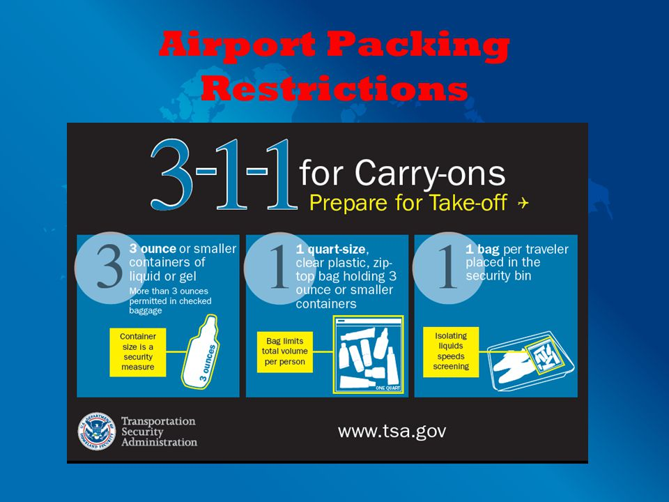 Airport Packing Restrictions