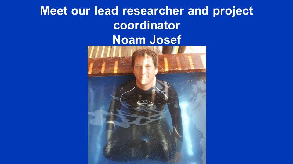 Meet our lead researcher and project coordinator Noam Josef