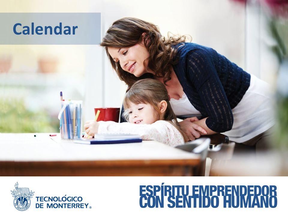 MODELO EDUCATIVO Calendar