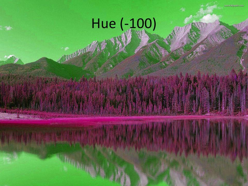 Hue (-100)
